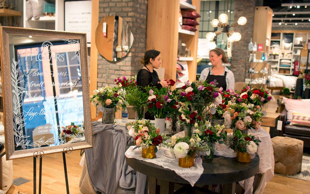 West Elm Valentine's Day Pop-Up Shop
