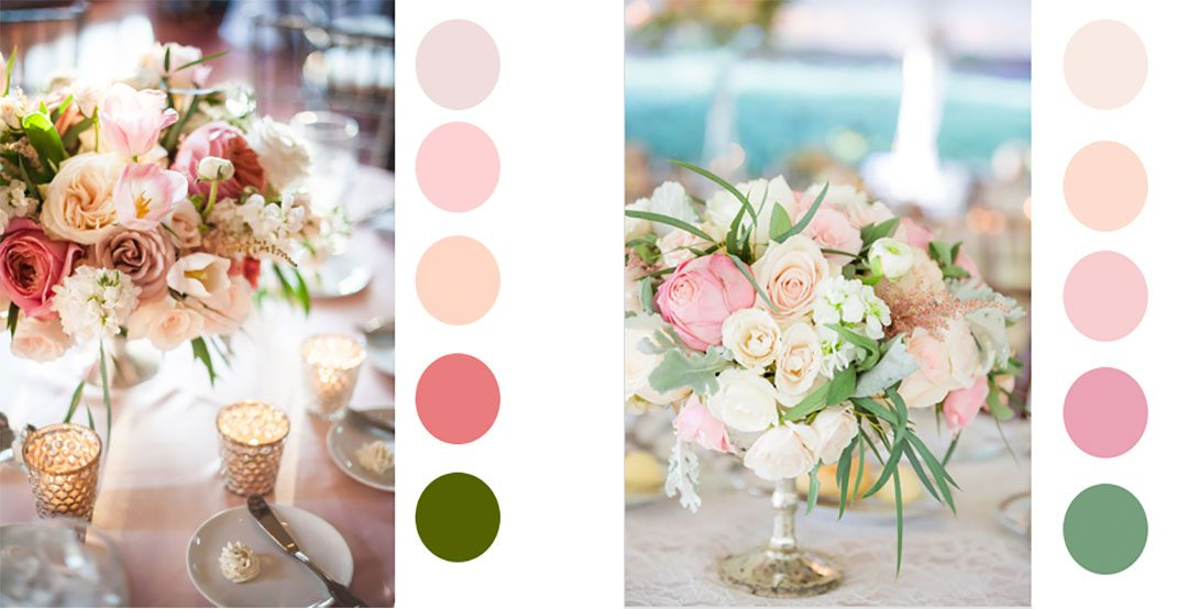 Fresh Color Palettes For Spring Flowers By Yona