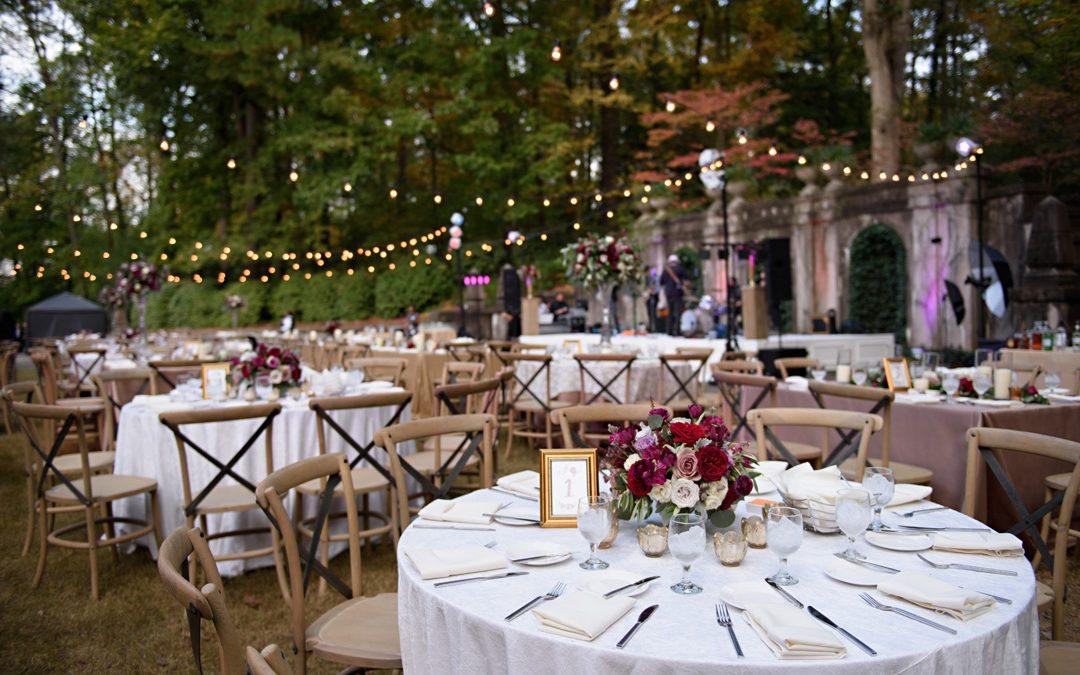 Dancing in the Moonlight: Designing Outdoor Weddings